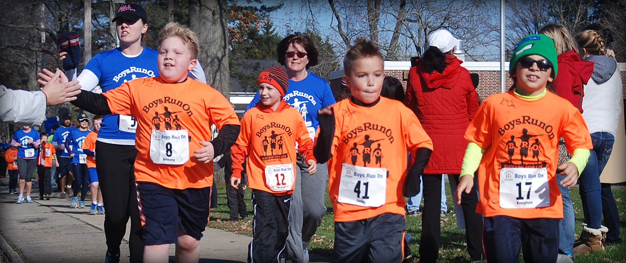 Boys Run On 5k Race